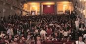 Opening night audience