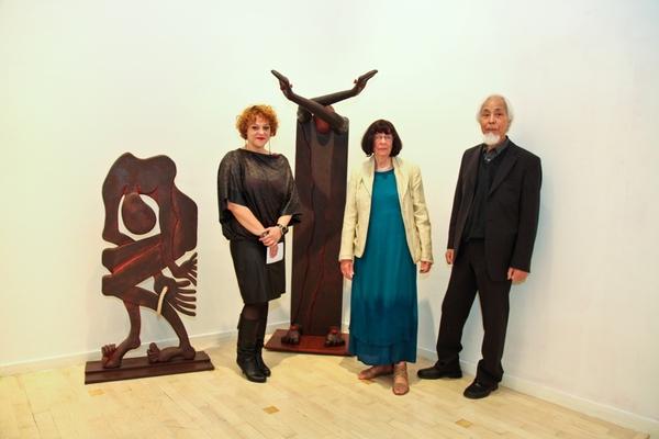 Nataša Popović with Ursula and Seiji Kimoto
