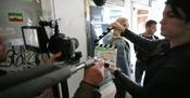 "Shooting of the film ""Sense"""