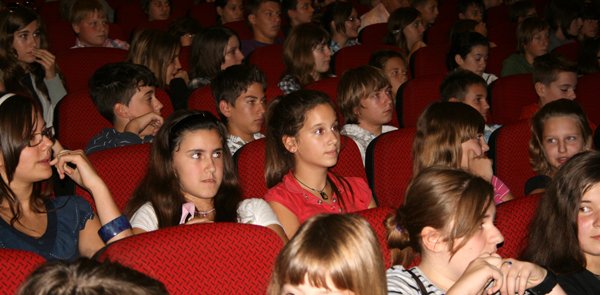 Educational morning in Osijek in 2010
