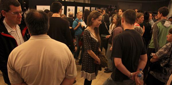 Foyer of the Europa cinema