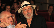 Branko Lustig and Rade Šerbedžija at the Europa cinema - 3rd JFF