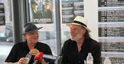 Branko Lustig i Rade Šerbedžija - press konferencija