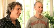 Francuski redatelj Graham Guit i izraelski kompozitor Ishai Adar