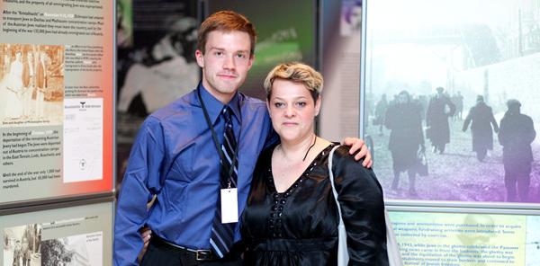 Mladi američki redatelj Christopher Rowe i Nataša Popović