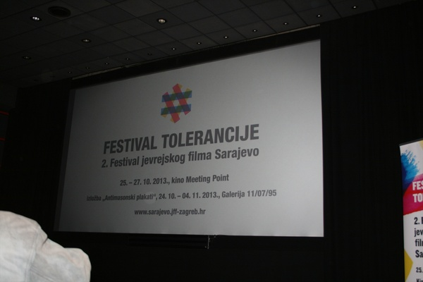 Opening of the Festival of Tolerance - 2nd Sarajevo Jewish Film Festival