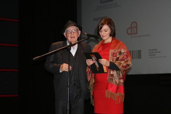 Branko Lustig i Magdalena Želasko