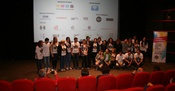 Ogranizational team of the Festival of Tolerance with the Sarajevo volunteers